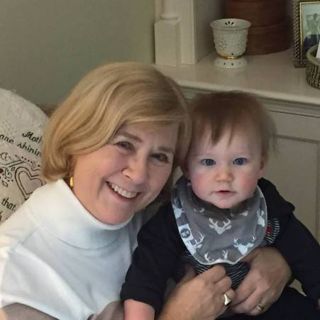 Nancy and grandbaby
